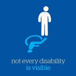 Not every Disability as Visible, IMAGE