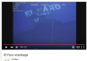 Underwater image confirms shipwreck El Faro