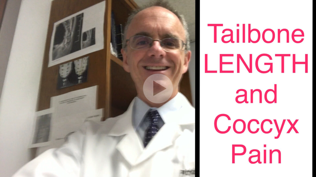 Tailbone LENGTH and Coccyx Pain