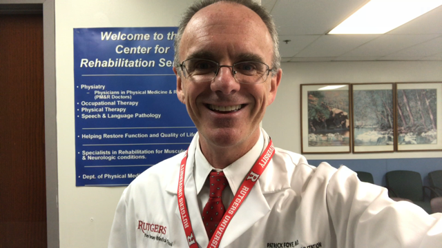 21-years at NJMS, Patrick Foye MD, Dr Foye