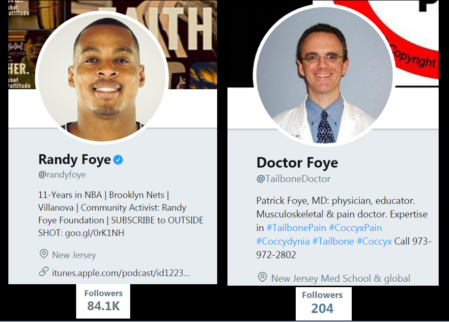 Randy Foye, Doctor Foye, Newark, NJ