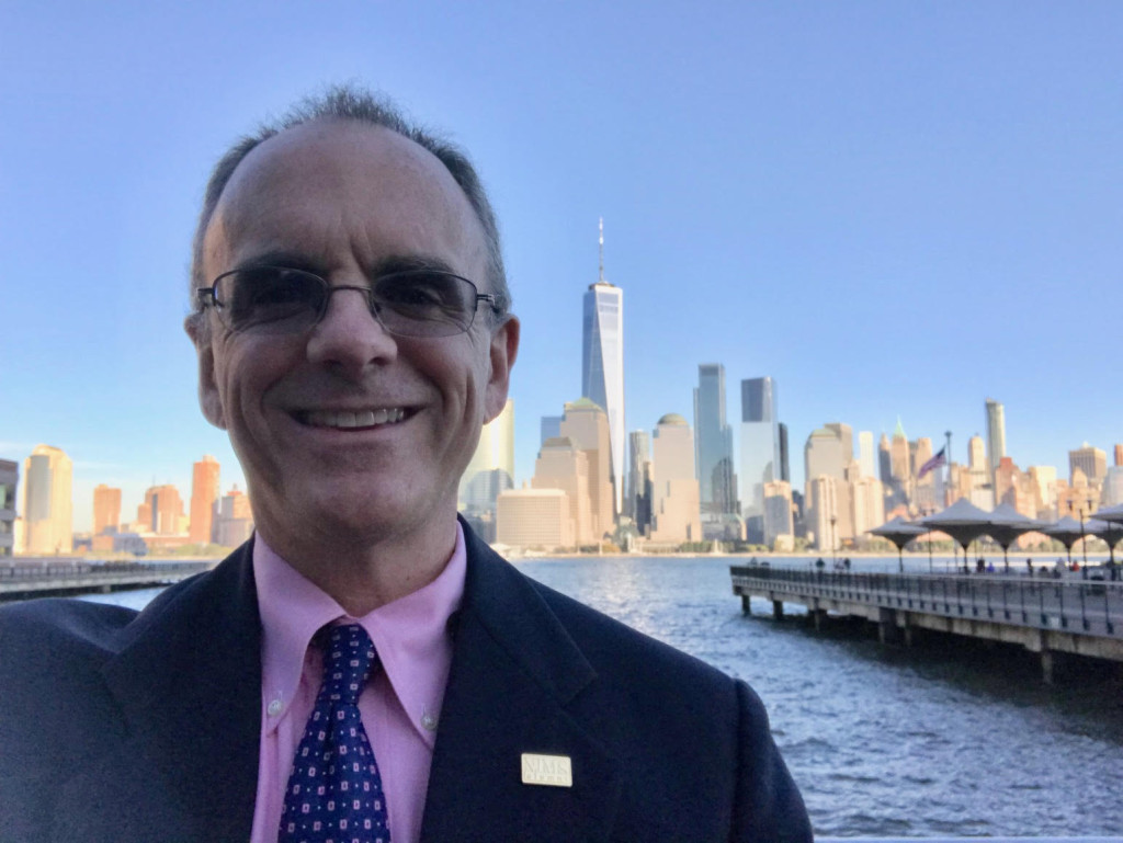 Patrick Foye MD at NYSIPP NJSIPP New Jersey Society of Interventional Pain Physicians, NYC skyline