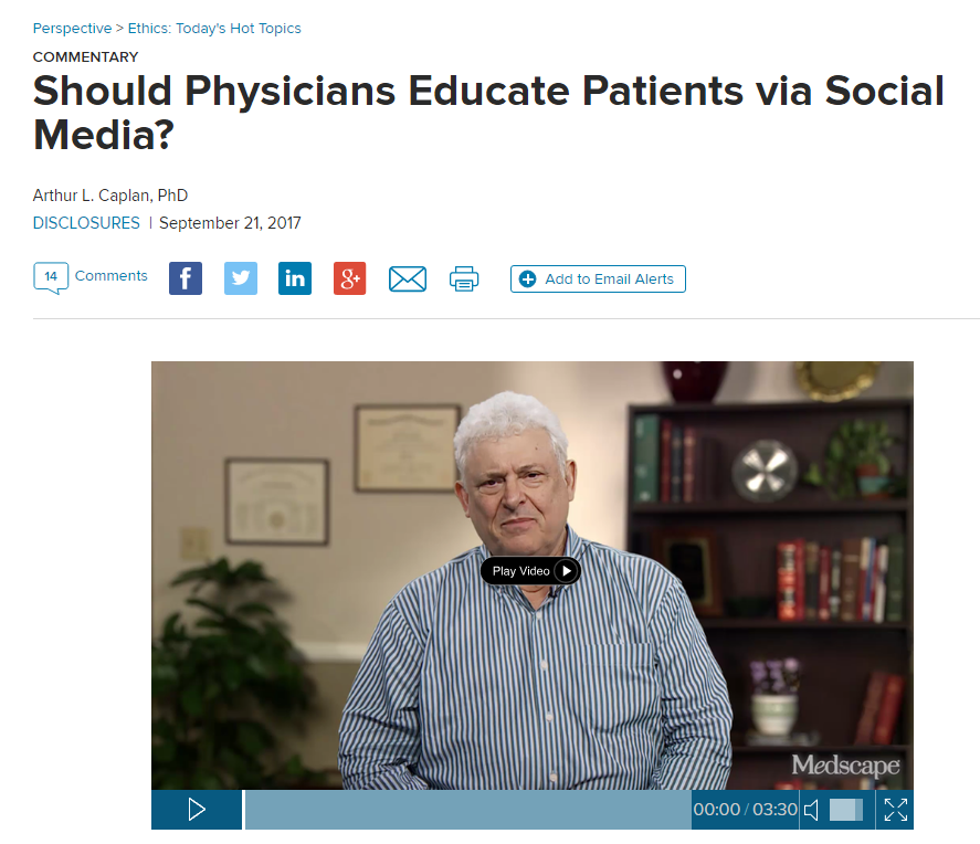 Social Media for Physicians