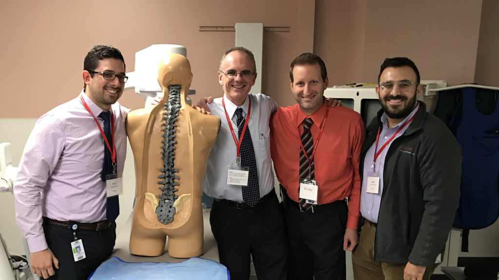 Patrick Foye MD teaches Medical Students about PM&R, Spinal Injections, and Fluoroscopy