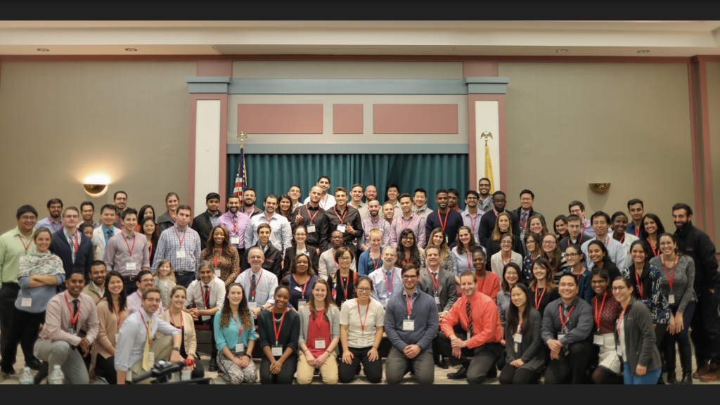Group Photo, Medical Students learn about PM&R