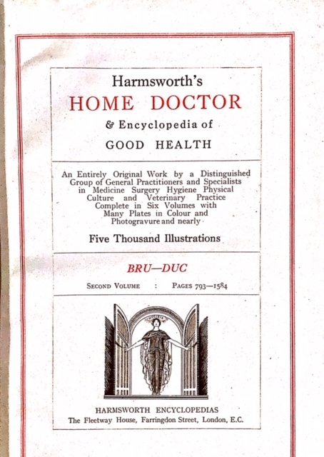 Harmsworth Book Title Page