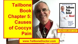 Chapter 5 of Tailbone Pain Book, CAUSES of Coccyx Pain