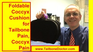 Foldable Gel Coccyx Cushion for Tailbone Pain, Coccyx Pain