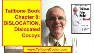 Chapter 8 of Tailbone Pain Book, DISLOCATIONS, DISLOCATED, Coccyx Pain