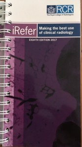 Royal College of Radiologists, RCR, iRefer, Guidelines