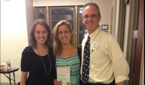 At Beyond Basics Pelvic Floor Physical Therapy, NYC, Stephanie Stamas, Amy Stein, with Patrick Foye MD, October 2014