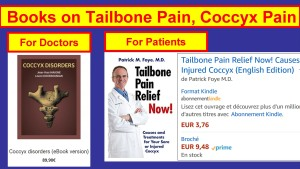 Coccyx Pain Books, For Doctors versus For Patients