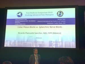Dr Plancarte Lectured on Celiac Plexus and Splanchnic Nerve Blocks