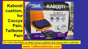 Kabooti cushion, for Coccyx Pain, Tailbone Pain