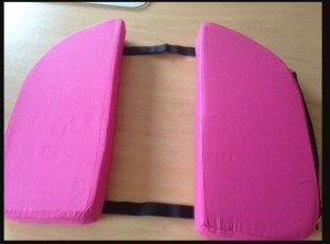 Pelvic Pain, coccyx cushion, Pink color, from Pinterest