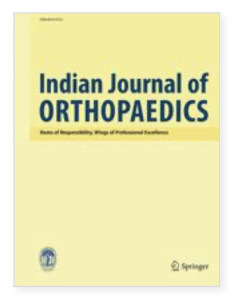 Indian Journal of Orthopaedics, Journal Cover
