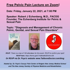 Free Pelvic Pain Lecture by Robert J Echenberg, MD