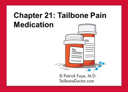Tailbone Pain Medications, for Coccyx Pain, Coccydynia